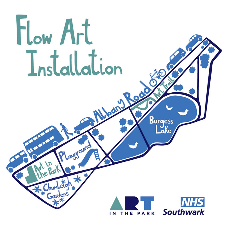 Flow Art Installation Map