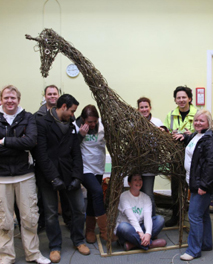 Willow giraffe