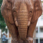 Tim Norris Wooden Elephant