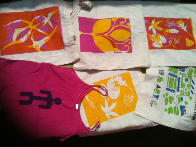 silk screen bags