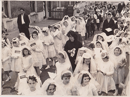 English Martyrs Procession c1961