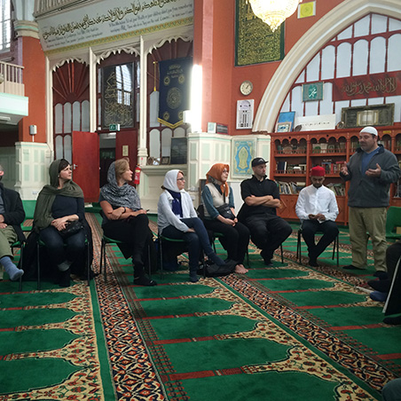 Heritage Talk with Erbil Celebi at New Peckham Mosque 2016