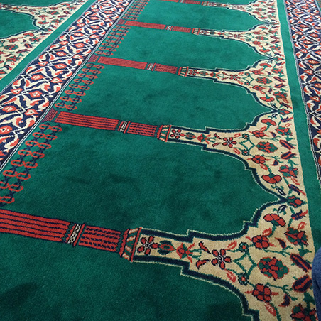 New Peckham Mosque Carpet 2016