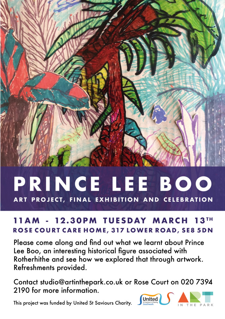 Art in the Park - Prince Lee Boo web