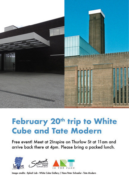 White Cube and Tate Modern web